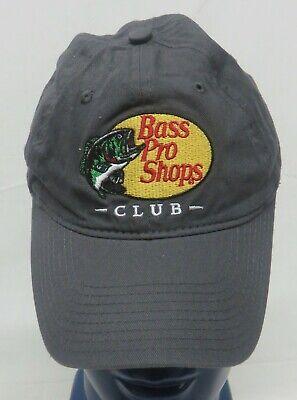 8c3ecb9712f bass Pro Shops Club Grey Adjustable Back Hat Trucker Style Cap