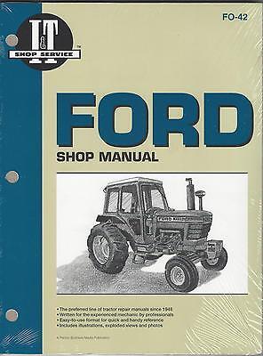 Ford 5000/5600/5610/6600/6610/6700 + 10 Series Workshop Manual
