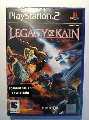 LEGACY OF KAIN Defiance PS2 PAL ESPAÑA RARO COLECCIONISTAS NUEVO y PRECINTADO!!!