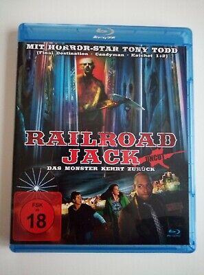 Railroad Jack  - Jack the Reaper - Jahrmarkt des Grauens Bluray Neuwertig uncut