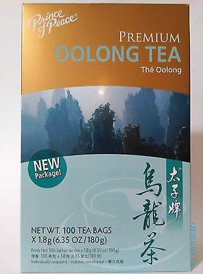 Prince of Peace - Premium Oolong Tea - 100 Tea Bags