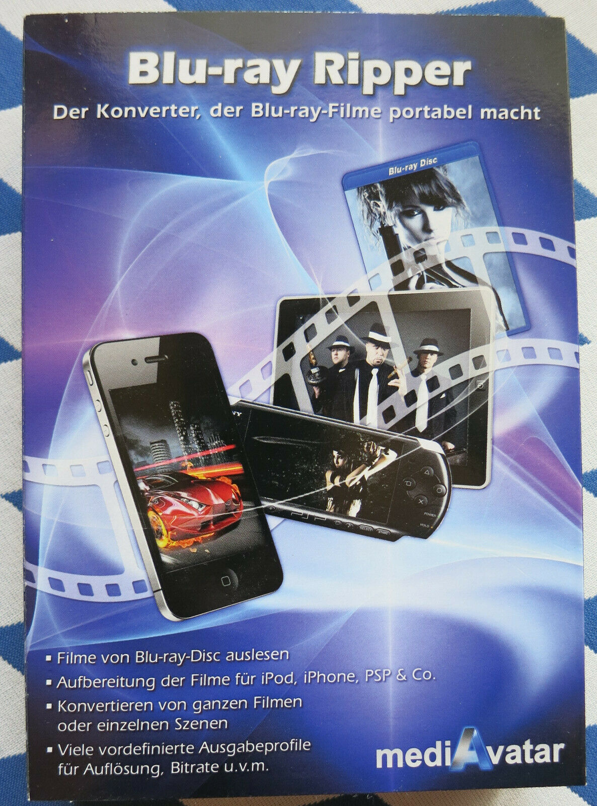 Blu-Ray Ripper, Konverter, mediavatar, Xillisoft - NEU & OVP