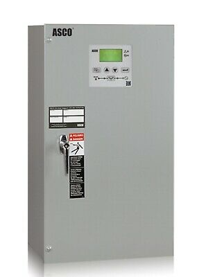 New Asco 300 G Auto-transfer Switch 104a 208v 3p With Quad Ethernet Module.