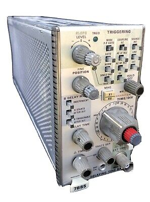 Tektronix 7b85 Plug-in Delaying Time Base Module