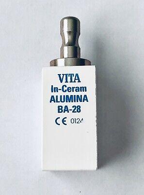 Cerec Vita In Ceram Ba-28 Alumina For Mcxl 2-notch