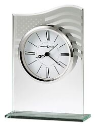 645-779 LIBERTY A CRYSTAL  HOWARD MILLER TABLE/ MANTLE CLOCK  645779