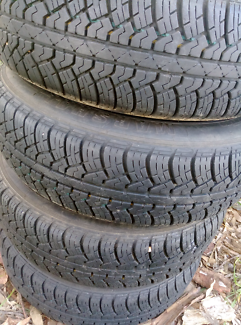 185/75 R14 89H Tyres and rims, good tread.