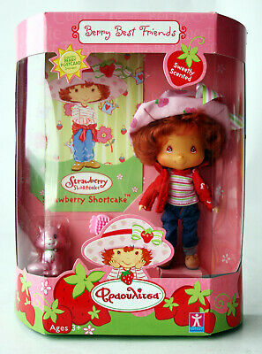 Rare 2003 Strawberry Shortcake Scented Doll Berry Best Friends Cat