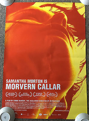 2002 MORVERN CALLAR movie poster ~ 27 x 40 ~ Samantha Morton