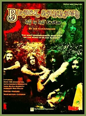 BLACK SABBATH MOB RULES Book Riff by Riff Guitar Tab Noten Solos Gear Fotos OZZY ()