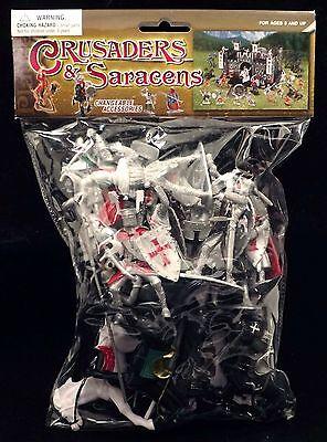 BMC 34 Crusader Knights Bagged Toy Soldier Playset