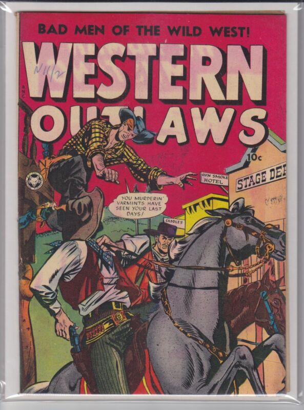 WESTERN OUTLAWS # 19