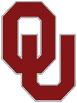 Oklahoma OU University Sooners Color Vinyl Decal Sticker - You Choose Size