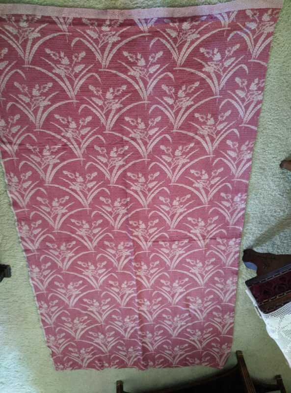 Vintage linens, Bates pink bed spreads twin times two