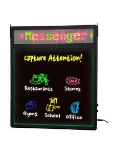Royal Sovereign Illuma-Write LED Rewritable Sign Board