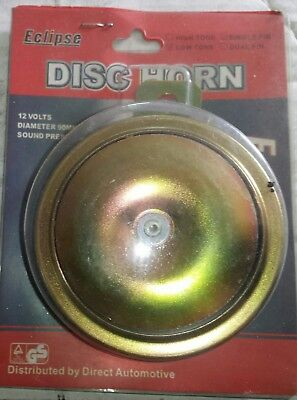 Disc horn low note