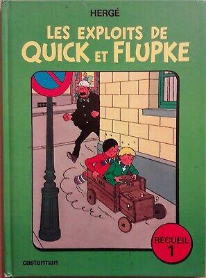 Recueil n° 1 Année 1975 Les exploits de QUICK et FLUPKE