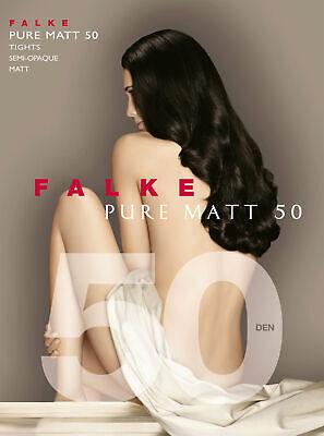FALKE Pure Matt 50 den Strumpfhose Damen Uni semi-blickdicht & matt