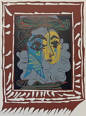 PICASSO Pablo 1145-pp: 1963 La Femme au Chapeau