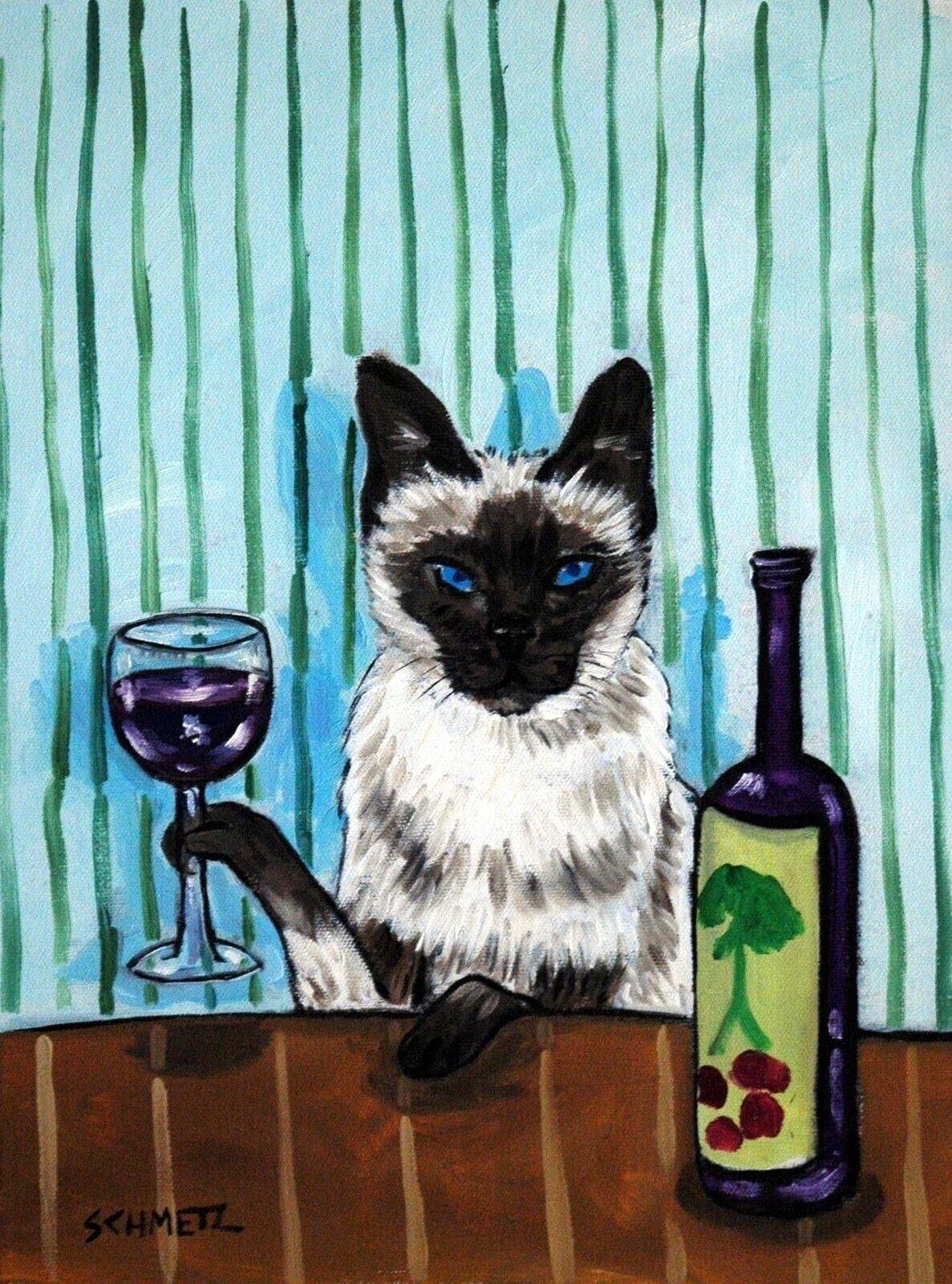 Открытки пьяные кошки