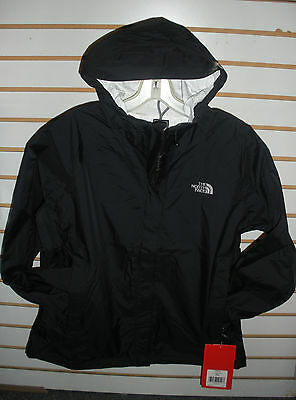 THE NORTH FACE WOMENS VENTURE 2 WATERPROOF JACKET -A2VCR- TNF BLACK- S, M, L