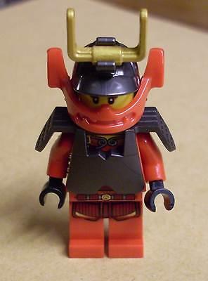 Lego Ninja Ninjago - Nya - Samurai Figur rot mit Helm u. Rüstung ( Nia Nja ) Neu - Nia Ninjago