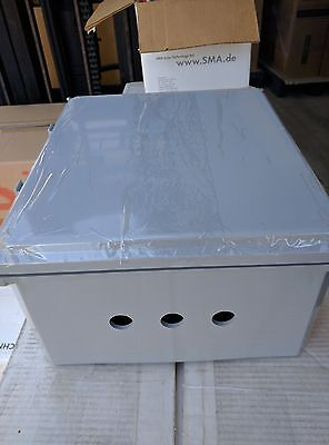 14x12x6 Ip68 Junction Project Pull Box With Aluminum Plate