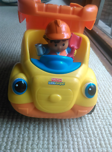 Fisher Price little people dump truck musical toy Mount Riverview Blue Mountains Preview