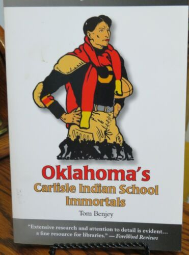 Carlisle Indian School Oklahoma athletes biographies Jim Thorpe Native Americans