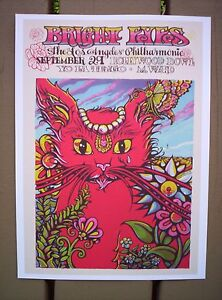 BRIGHT EYES Conor Oberst M. WARD Hollywood Indie Rock Concert mini Poster