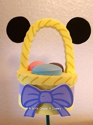 Disneyland MICKEY Easter Basket with eggs Antenna Topper Retired