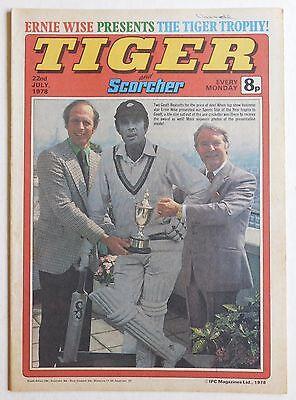 TIGER & SCORCHER Comic - 22nd July 1978