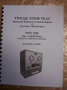 Illustrated-Teac-Repair-Manual-Teac-A-4010-Series