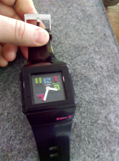 Authentic Baby G watch