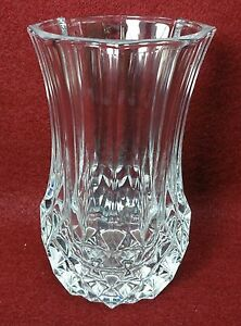 Cristal D Arques Vase Ebay