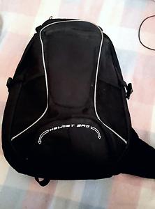 Motorbike bag with helmet net St Kilda Port Phillip Preview
