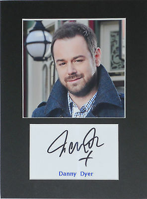 Danny Dyer photo print mounted 8x6 signed printed autograph gift display