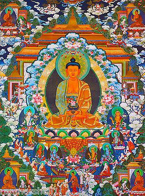 Tibet Budha Budhist China Chinese Orient Travel Advertisement Poster