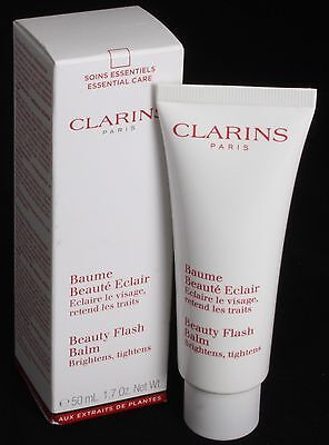 Clarins Beauty Flash Balm Brightens Tightens 1.7oz./ 50ml.  NiB!
