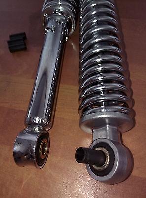 Puch X30 X40 X50 X 30 40 50 Mofa Moped Stoßdämpfer Federbeine 360 mm verchromt