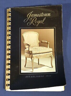 Jamestown Royal Furniture Co. Catalog Upholstered Sofas Chairs - Best in