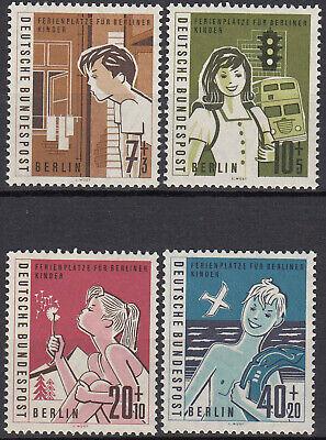 BRIEFMARKEN 1960 BERLIN 193 194 195 196 POSTFRISCH BERLINER FERIENKINDER