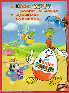 Pubblicita-Advertising-KINDER-SORPRESA-2000
