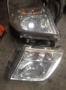 Nissan Navara D40 headlights Slacks Creek Logan Area Preview