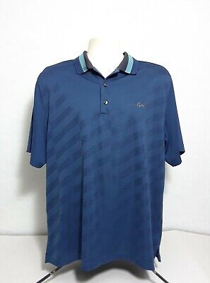 c3ebdfd4a Greg Norman Play Dry Golf Short Sleeve Polo Shirt Mens Size Large
