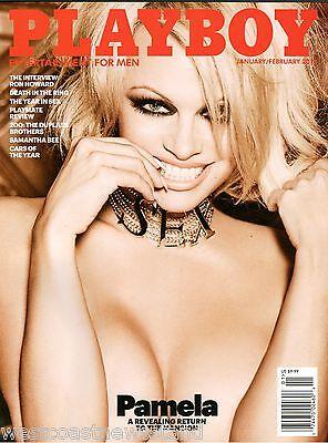 Pamela Anderson   Playboy Magazine   January February 2016   Last Nude Issue