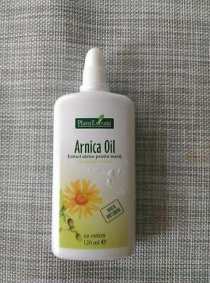 Extracto de plantas de aceite de masaje Arnica, alivia los dolores...