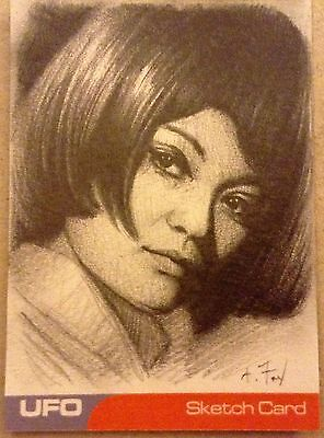 UFO: SKETCH CARD: BY ANDY FRY