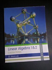 Linear Algebra 3rd Edition by Wolczuk