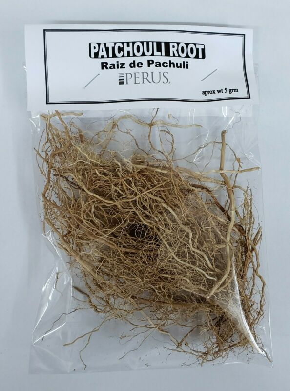 PATCHOULI ROOT /RAIZ DE PACHULI 1 BAG 5 gr POGOSTEMON CABLIN BUY 2 GET 1 FREE !!